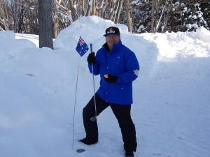 旗はオーストラリアの国旗です。