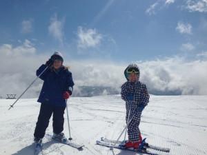 春スキー最高!